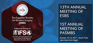 13th Annual Meeting of ESBS, 1st Annual Meeting of PASMBS.