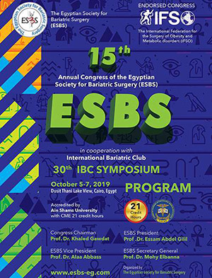 15th Annual Congress of the Egyptian Society of Bariatric Surgery