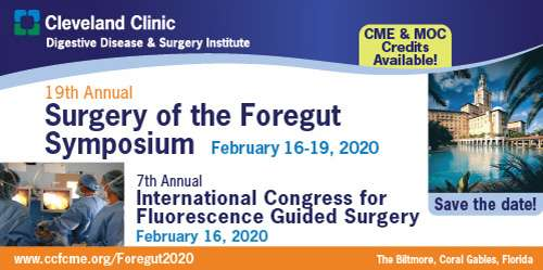 19th Annual Surgery of the Foregut Symposium