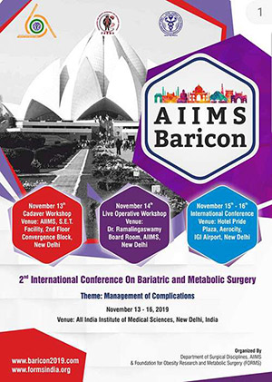 AIIMS BARICON  2nd International Conference on Bariatric and Metabolic Surgery