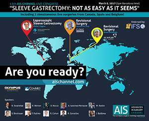 13th AIS Live Congress – Sleeve Gastrectomy: Not as easy as it seems
