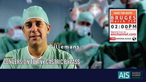 Conversion to RNY Gastric Bypass by Dr. Bruno Dillemans