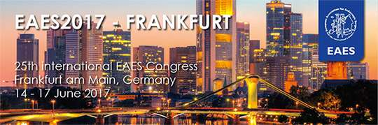 25th International EAES Congress Frankfurt am Main, Germany 14 - 17 June 2017
