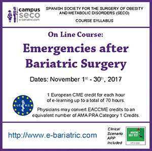 Emergencies after bariatric surgery: key points for physicians on duty