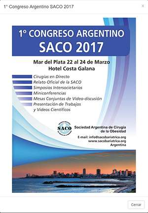 First Argentine Congress of Metabolic and Bariatric Surgery