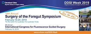 18th Annual Surgery of the Foregut Symposium - Cleveland Clinic