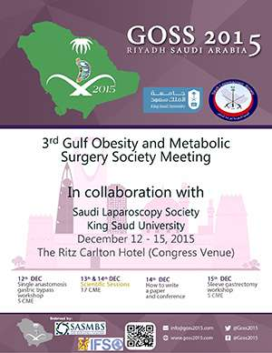 Gulf Obesity and Metabolic Surgery Society 2015