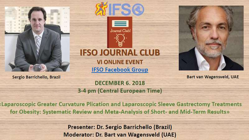 VI IFSO JOURNAL CLUB ONLINE EVENT