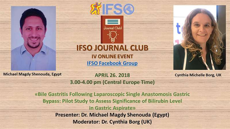 IV IFSO JOURNAL CLUB ONLINE EVENT