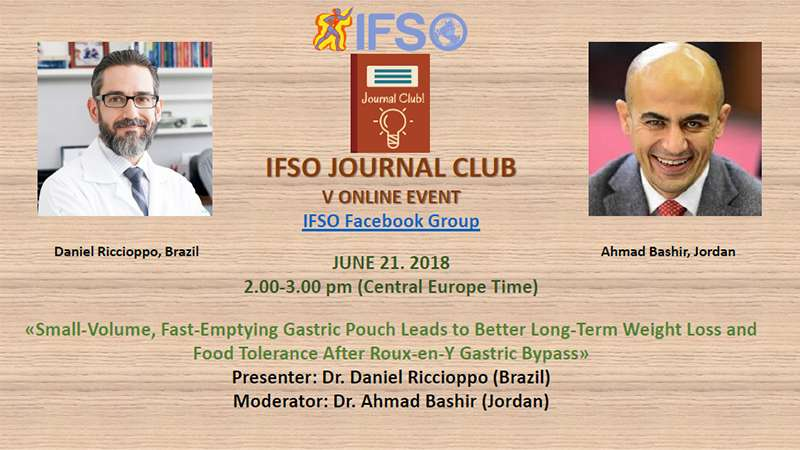 V IFSO JOURNAL CLUB ONLINE EVENT