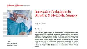 Innovative Techniques in Bariatric & Metabolic Surgery