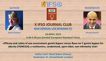 X IFSO JOURNAL CLUB ONLINE EVENT