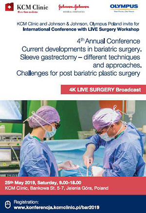 4th Annual Conference: Current Development in Bariatric Surgery