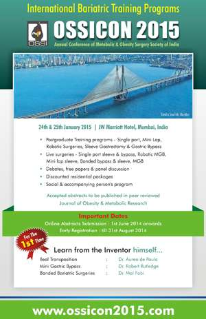 Annual Conference of Obesity Society of India - OSSICON 2015