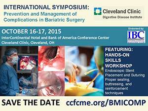 International Symposium: Prevention and Management of Complication in Bariatric Surgery