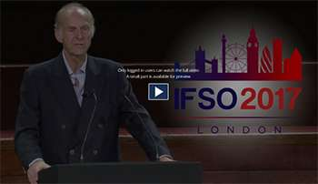 SCOPINARO LECTURE BY SIR FIENNES THE EXPLORER - IFSO2017 LONDON