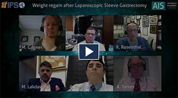 Weight regain after laparoscopic sleeve gastrectomy