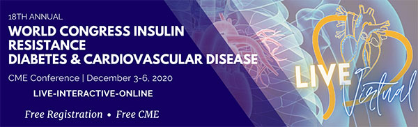 18th World Congress on Insulin Resistance, Diabetes & Cardiovascular Disease