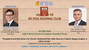 XII IFSO JOURNAL CLUB ONLINE EVENT